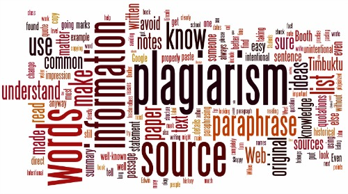 Plagiarism Wordle